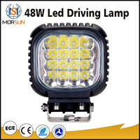 High quality 12v 24v 48w led work lamp IP67 3360lm spot beam driving light for cars trucks