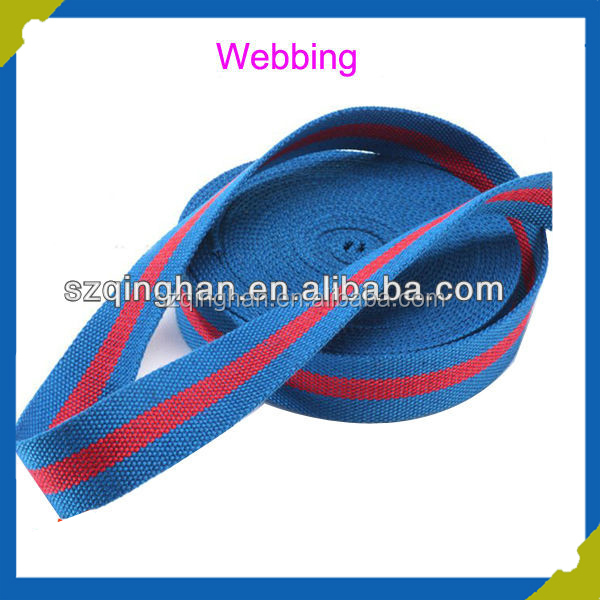Top Quality Soft Woven Cotton Webbing Strap Supplier