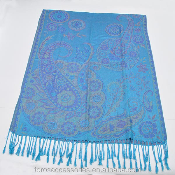TOROS wholesale fashion latest design lady paisley pashmina shawl scarf