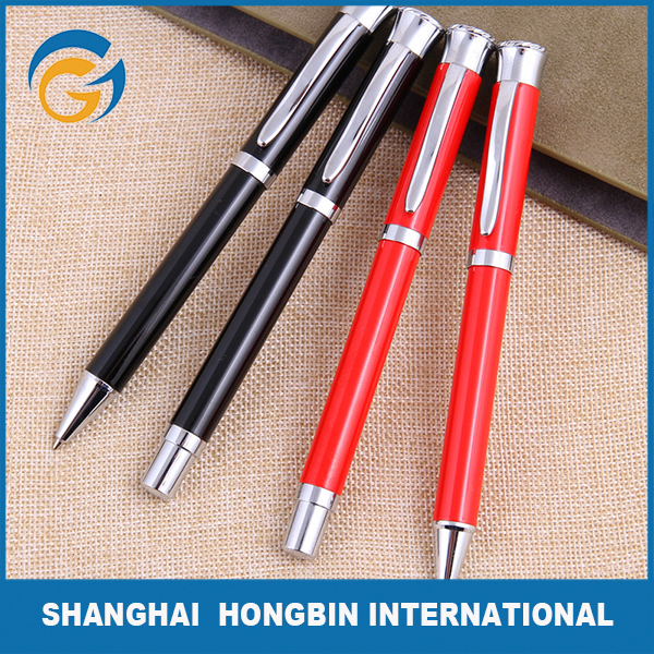 Heavy Customized Printed Metal Ballpoint Pens