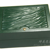 Leather Watch Packaging Box With Pillow