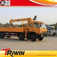 low price china cheap sale 6X4 245 hp 7 ton mobile crane