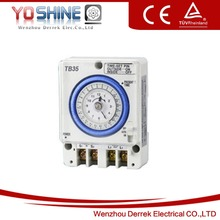 Battery Powered Timer Switch 24 Hours 15 Minutes Interval Daily Mechanical Time Switch TB35