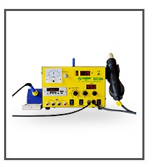 DELE 605C# Professional Laser Temperature controlled soldering iron for mobile phone 60w