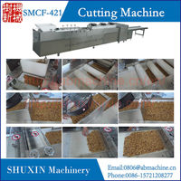 Vertical guillotine type kwai melon candy cutting machine