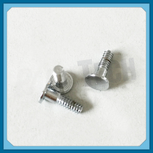 Custom Made American Standard 4/40 TPI CNC Machined Steel Shoulder Screw