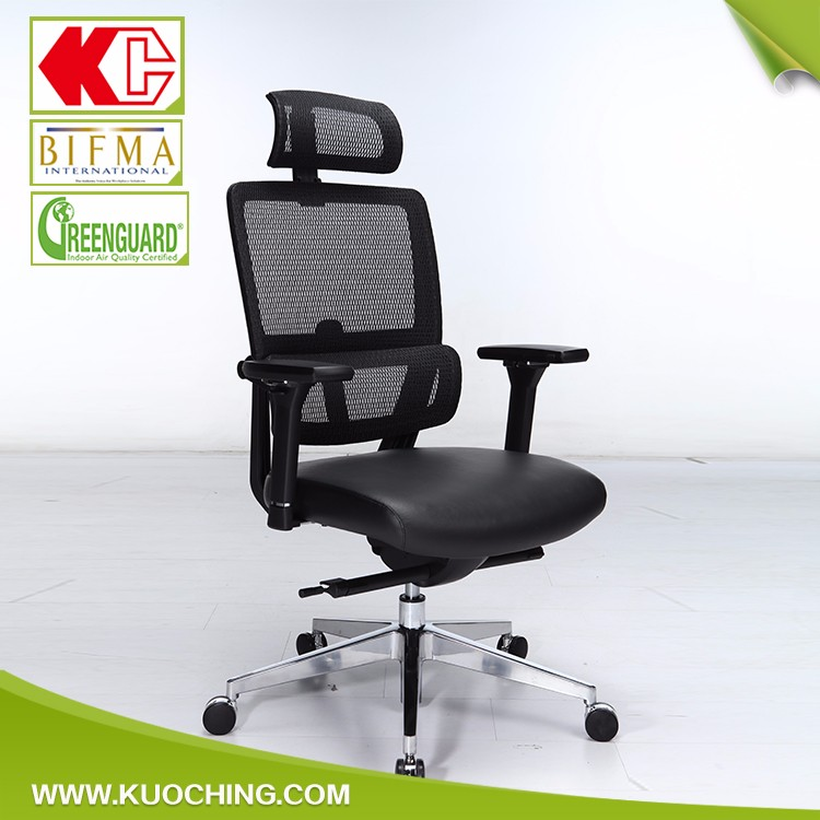 Attractive Modern Adjustable Armrest High Back Mesh Office Chairs Factory Price Ab-11