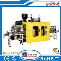 Two head specification of blow moulding machine