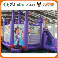 Wholesale inflatable frozen combo moonwalk/ jumper/bounce house/inflatable jumping castle