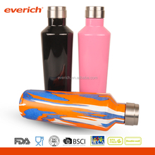 New Double Wall Vacuum Insulated Stainless Steel cap Vacuum Sports Water Bottle