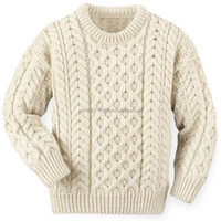Exclusive 100% finest alpaca wool Fisherman Sweater