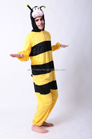 Party Honey bee costume animal jumpsuit sexy adult animal movie mascot costume