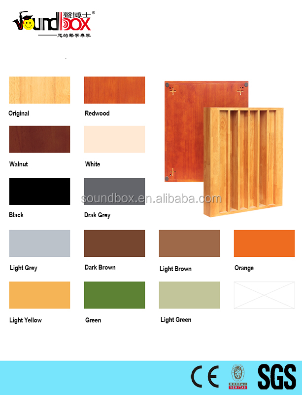 High quality Rubber <strong>oak</strong> wood material N8 Sound Diffusion <strong>Panel</strong>