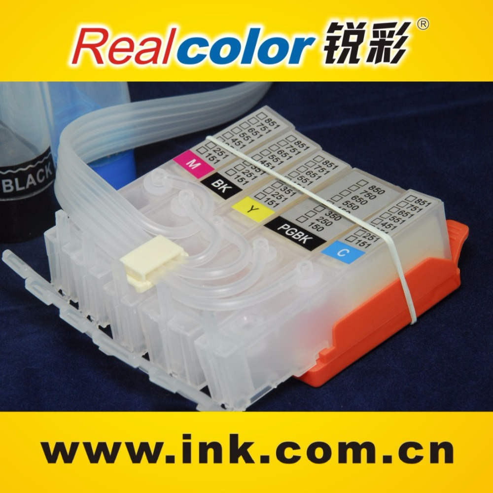 Bulk Continuous ink supply system for Canon Pixma IP7250 MG5450 MG6350 CISS