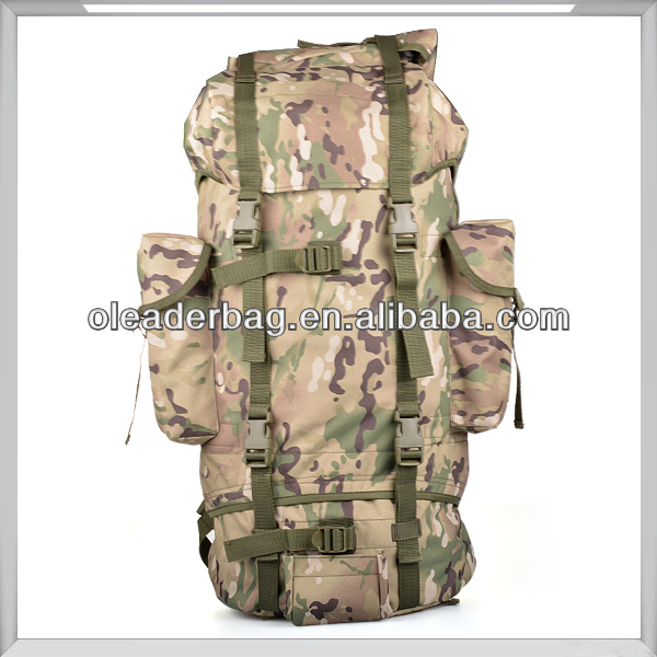 75L Simple Hiking Backpack Camouflage Waterproof Backpack
