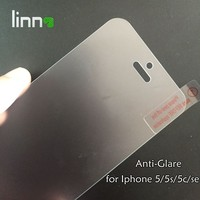 for Iphone 5 se bubble free anti glare 0.3mm 2.5D 9H tempered Japan glass screen protector