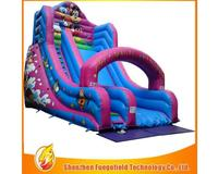 2016 New design colorful inflatable slide Water slide Best price
