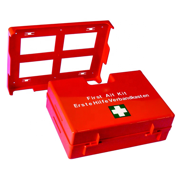 DIN13157 European Standard Wall Mounted Hanger Workplace First Aid Kits Industrial Kits
