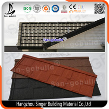 Stone-coated Metal Roof Tiles, stone chips roofing tils, metal roofing sheet