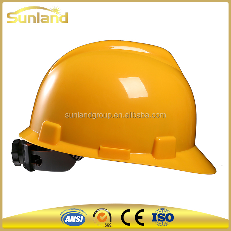 industrial safety helmets with visor for workers, Safety Helmet With China Strap