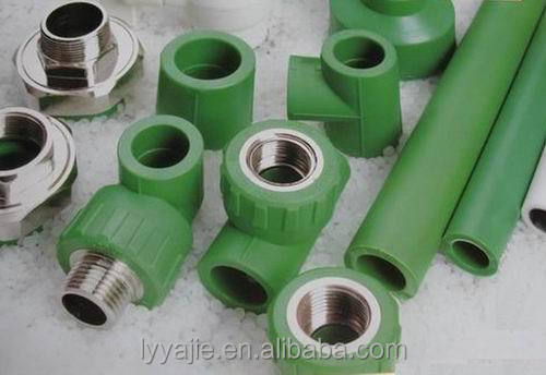 Plastic compression pipe fitting ppr male adapter