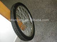 "20""*1.75 solid bicycle wheel"