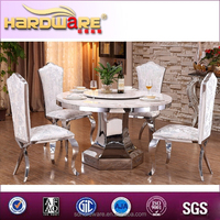 CHINA SUPPLIER SUPPLY STAINLESS STEEL CHAIR AND TABLE FURNITURE