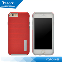 Veaqee OEM Shockproof Mobile Accessories Fashion Design Armor TPU PC Smart phone Cover Cell Phone Case For Iphone7/7 Plus