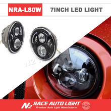 N2 Sales Promotion Super Bright IP68 Round 7'' Jeep Wrangler JK LED Headlights with DRL