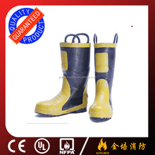 Low price Fireman Firefighting Boots with CE certificate
