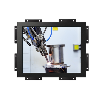 Embedded 22 inch resistive / capacitive touchscreen open frame monitor with 10 points touch