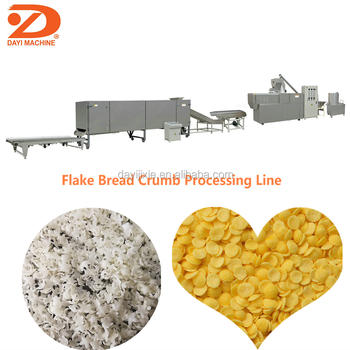 DAYI bread crumbs snack food machine production line