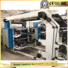 High speed 4 color Flexo t-shirt Printing Machine
