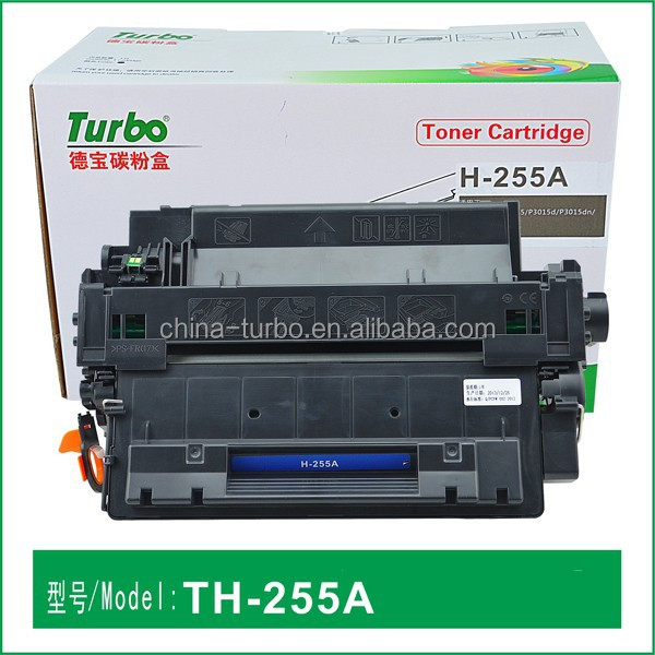 22 years Manufacturer, premium compatible HP toner cartridge CE255A 255A CE-255A 55A