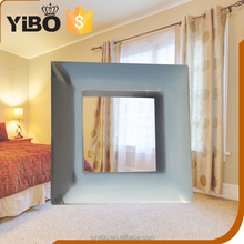 YiBo 20mm PP Plastic Small Square Curtain Eyelet Ring
