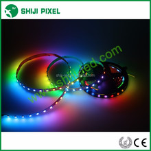 5volt swimming pool led strip lighting ws2812b led flexible strip 60leds/m