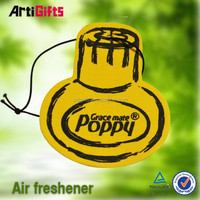 Cheap custom absorbent paper air freshener of car wash