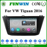 Factory wholesales car stereo for VW Tiguan 2016 with gps navigation tracking system Mp3 player audio