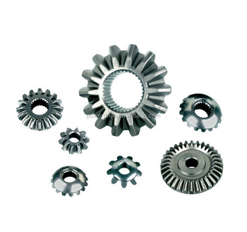Customized Carbon Steel Straight crown wheel and pinion bevel gear