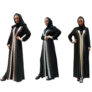 new design beautiful women islamic clothing muslim abaya dress