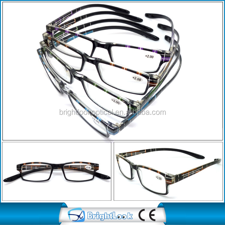 Eyeglass Frames With Long Temples : Brightlook Online Sales Long Temple Design Plastic Reading ...