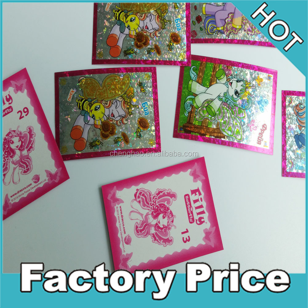 random packing full color printing paper sticker bags