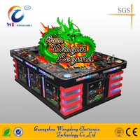 Casino Fishing Games!Green Dragon Fish Game Video Sit Down Cabinet 8 Players