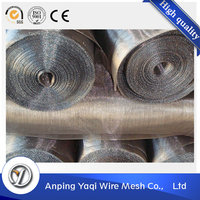 hot dipped galvanized welded 304 stainless steel screen square wire mesh panel