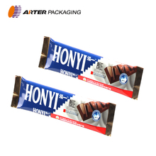 Cold seal chocolate bar packaging material