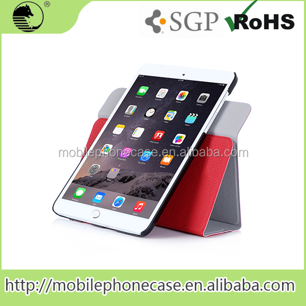 Multi-Function Universal Protective Tablet Cover Case with dual-way standings For iPad Mini 4