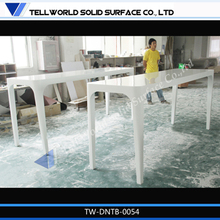 High quality glossy marble stone fashionable dining table,dinner table