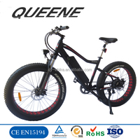 Adults chopper beach cruiser electric bike / green mountain electric bicycle /city e bike
