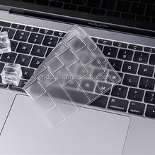 transparent laptop Silicone Keyboard cover dust cover for apple macbook POWERBOOK G4, MacBook Pro