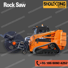 Concrete micro trenching machine, City concrete trencher machine